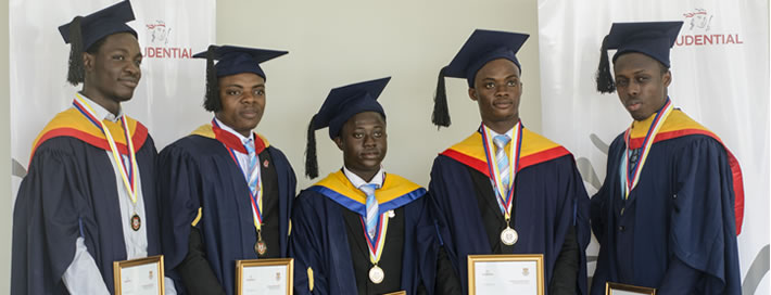 Prudential Life Insurance Honours Five Outstanding Actuarial Science Students