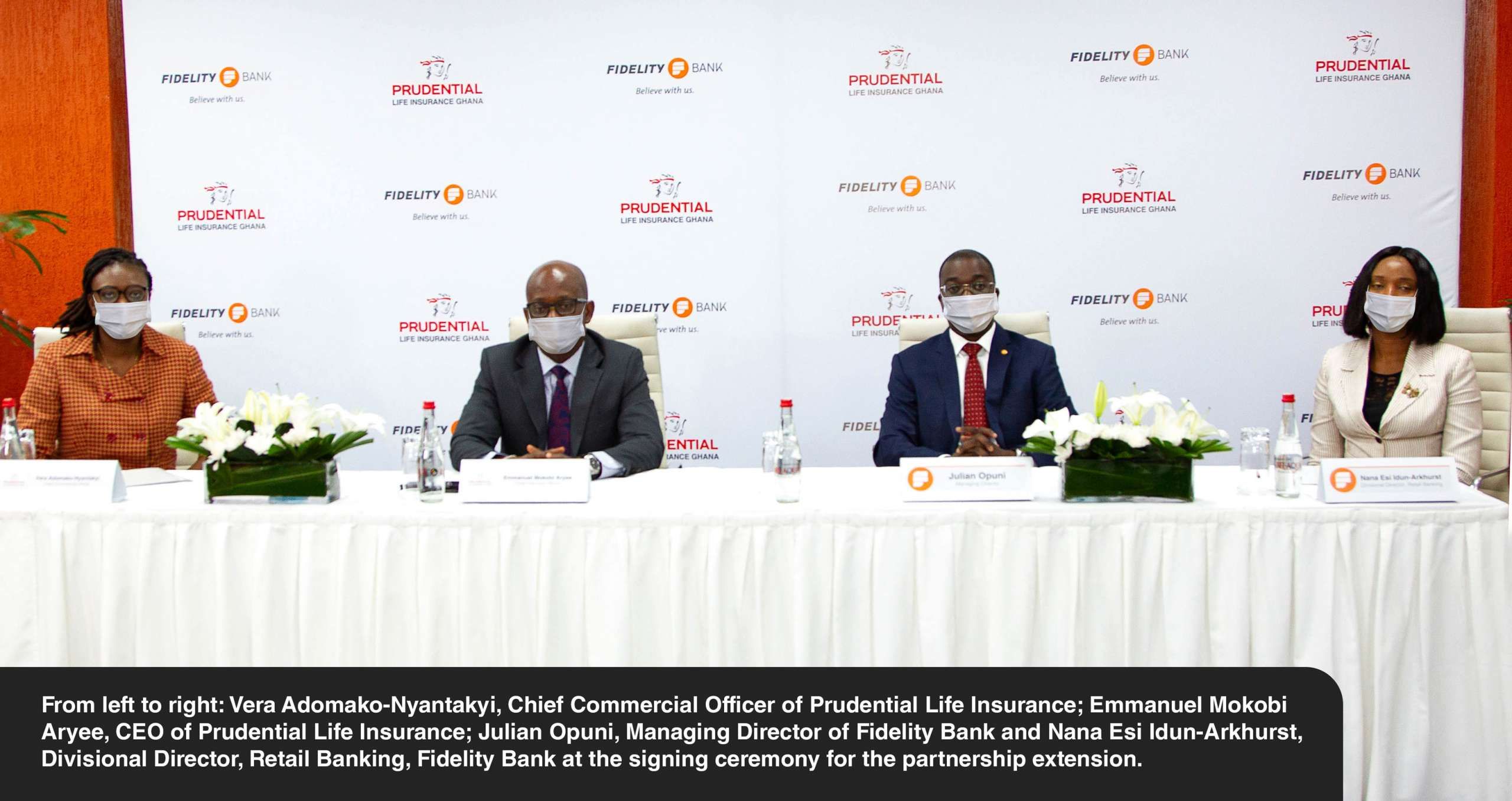 Prudential Life Insurance and Fidelity Bank to extend bancassurance deal by 10 years