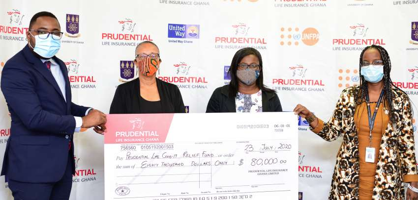 Prudential Life funds three institutions in COVID-19 relief initiatives