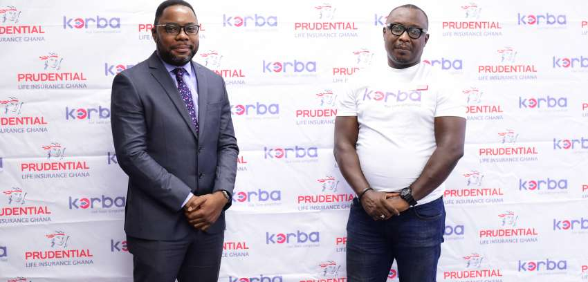 Korba announces partnership with Prudential Life to provide insurance cover for its customers